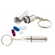 Alumpill Keyring Pillbox