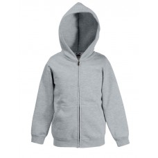 Zip Kids Hooded Sweat Jacket