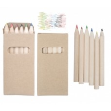 Kitty Set Of 6 Pencils