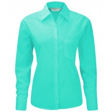 Ladies LS Easy Cary Poplin