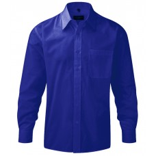 Mens LS Poplin Shirt