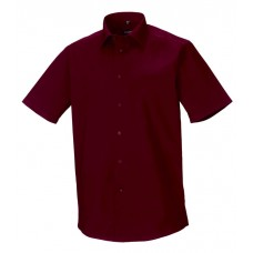 Men Sh Sl Easy Care Fitted