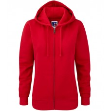 Ladies Authentic Zipped Hood Sweat