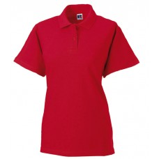 Ladies 100% Cotton Durable Polo